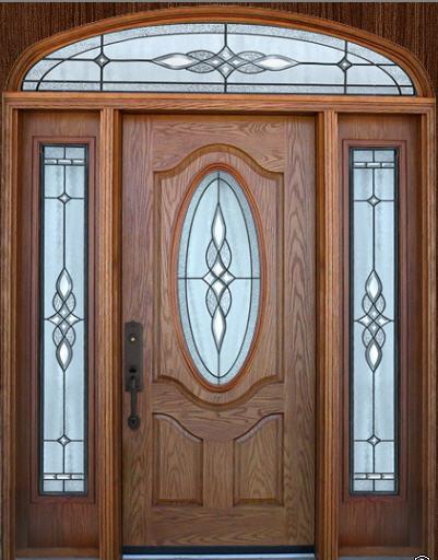 Дверь шпонированная Алекс Светлый дуб