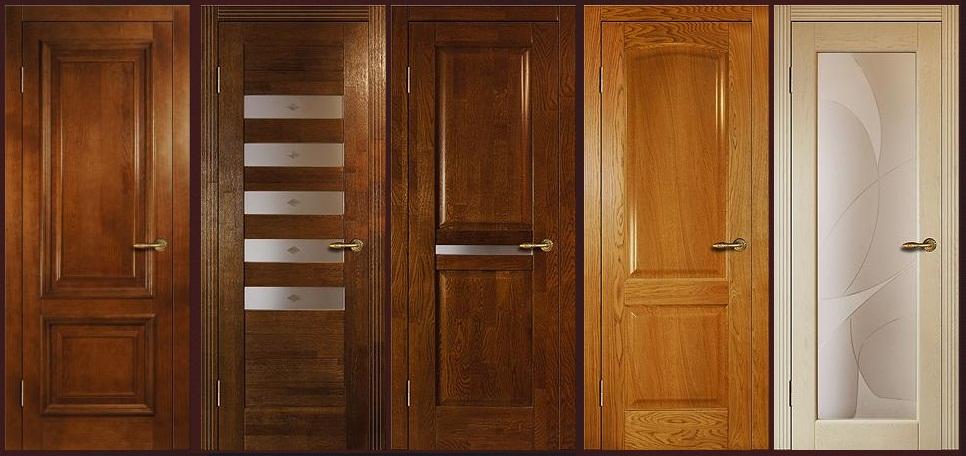 Фото образцов деревянных дверей на заказ