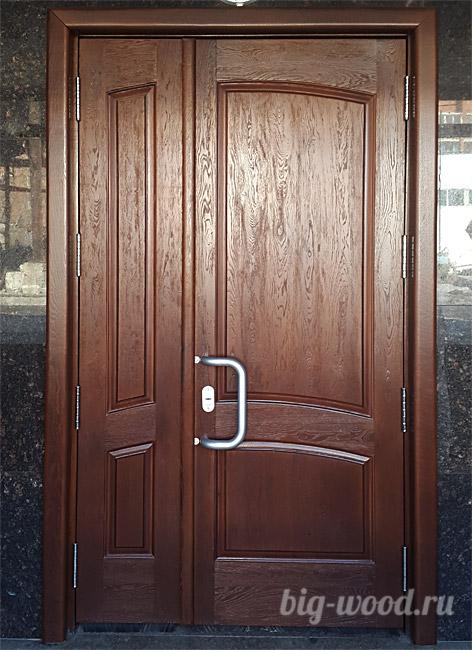Элитные межкомнатные двери из массива дуба и ясеня, фото в