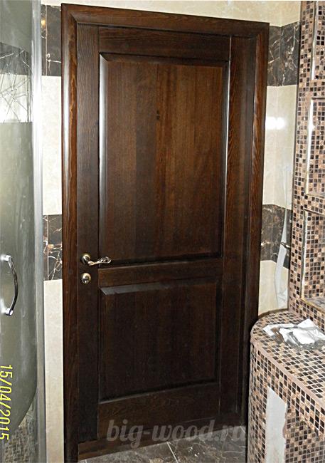 Двери из массива Арамиль ВИД Дуб в Румянцево выбрать