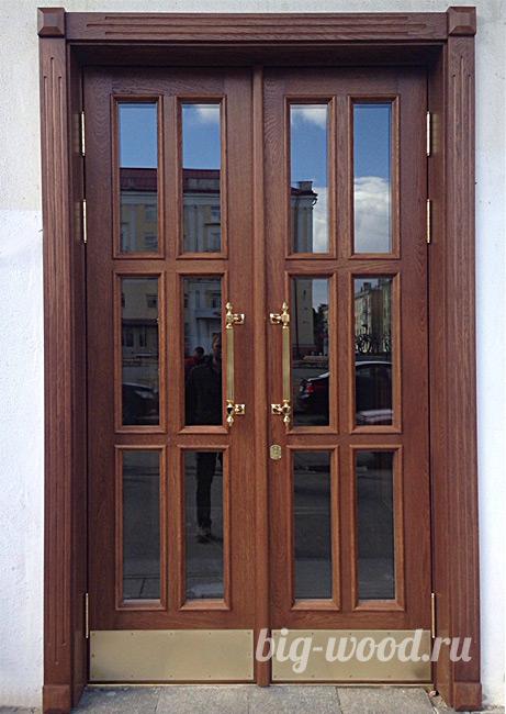 Фото дверей из массива ольхи -двери на Плеханова 7 Днепр