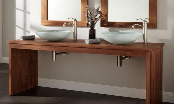 Столик под раковину в ванную